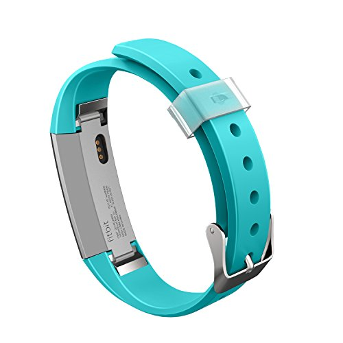 Fitbit Alta Bands,Greeninsync(TM) Watch Buckle Design Fitbit Alta Accessory Replacement Bands Large Small Tea-deepl for Man Women Kids - Small Buckle