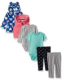 Girls' 6-Piece Jacket and Vest Set