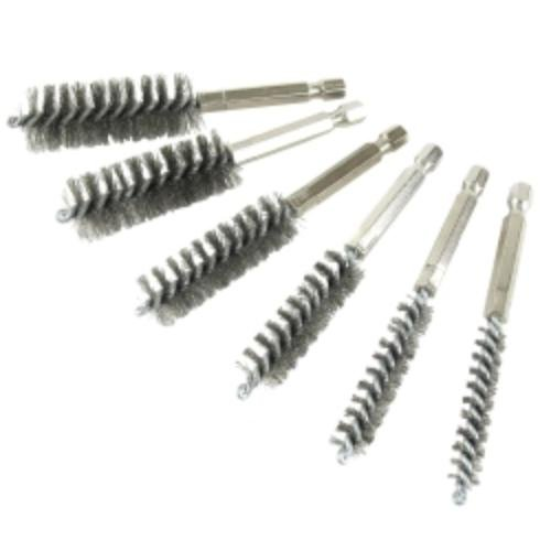 Twisted Wire Bore Brushes, Stainless Steel by Innovate Motorsports by Innovate Motorsports