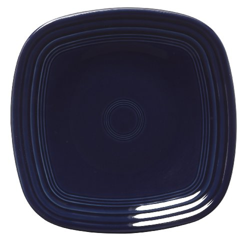 Fiesta 9-1/8-Inch Square Luncheon Plate  (Cobalt Blue Luncheon Plate)