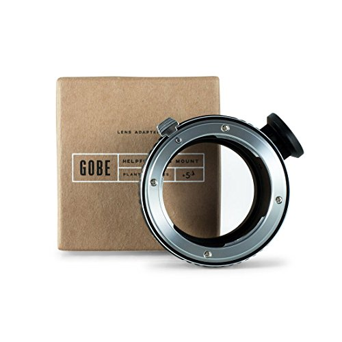 Gobe Lens Adapter: Compatible with Nikon F-Mount Lens and Sony E-Mount Camera Body + Tripod Attachment