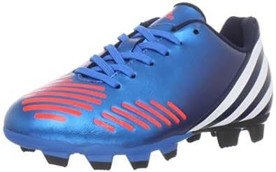 adidas Predito LZ TRX FG Soccer Cleat (Little Kid/Big Kid),Bright Blue/Running White/Infrared,10.5 M US Little Kid