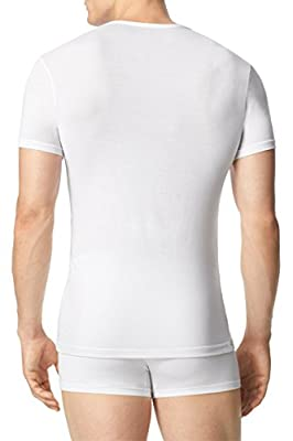 Calvin Klein Men's Body Modal Short Sleeve V Neck Pajama Top