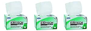 Kimwipes Delicate Task Kimtech Science Wipers (34120), White, 1-PLY, 30 Pop-Up Boxes / Case, 280 Sheets / Box, 8,400 Sheets / Case (.3 cases)