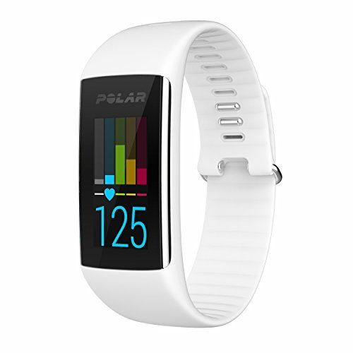 Polar A360 Fitness Tracker with Wrist Heart Rate Monitor (White, (Polar Wrist Unit)