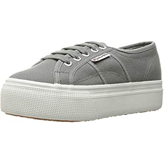 Superga womens 2790 Acotw Platform Fashion Sneaker, Grey Sage, 6.5 US