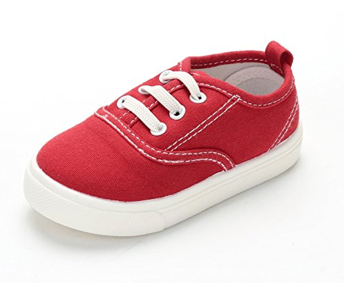 Girls Canvas Sneaker Slip-On Baby Boys Casual Fashion Boat Kids Shoes (Toddler/Little Kid)