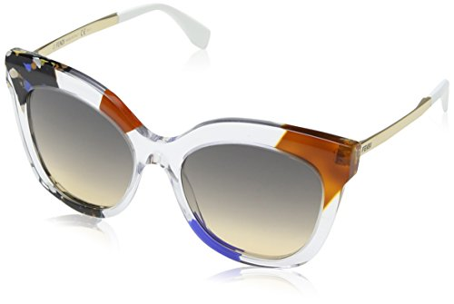 Fendi - JUNGLE FF 0179/S, Geometric, acetate, women, CRYSTAL MULTICOLOR GOLD/BROWN OCHRA(TKT/EG), - For Fendi Mens