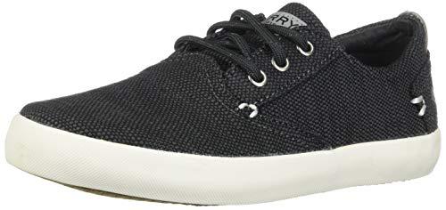 SPERRY Boys' Bodie Sneaker, Gunmetal, 4 Medium US Big Kid