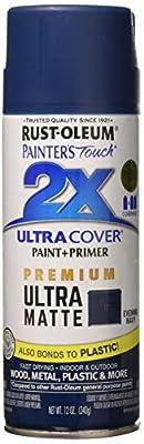 Rust-Oleum 331183 Painter's Touch 2X Spray Paint, Evening Navy