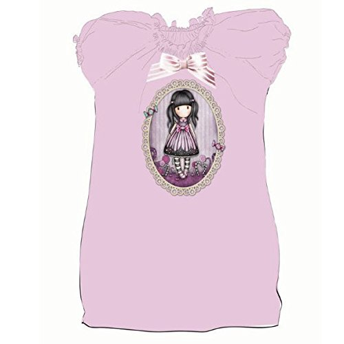 Gorjuss camiseta T10 rosa lazo: Amazon.es: Juguetes y juegos