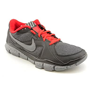 Nike Mens Running Shoes FREE TR2 WINTER Black / Cool Grey / Challenge Red SZ 7.5