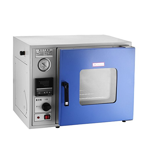 Mophorn Vacuum Drying Oven 0.9 Cu Ft 23L 12 x 12 x 11 Inch Digital Degassing Drying Oven Stainless Steel Vacuum Chamber Drying Sterilizing Oven MCU-Based Temperature Controller Herbal - Oven Lab