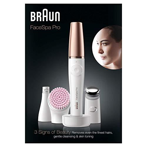 Braun FaceSpa Pro 912 Epilatore Elettrico Donna Viso