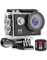 كاميرا تحت الماء رياضية EF4000-4K مع واي فاي وجهاز تحكم عن بعد