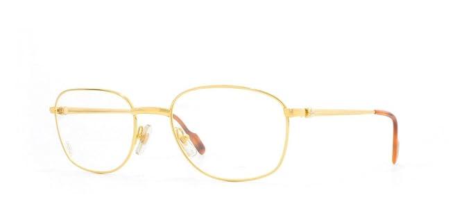 e653a4b062c2d Cartier - Montura de gafas - para hombre Dorado dorado  Amazon.es  Ropa y  accesorios