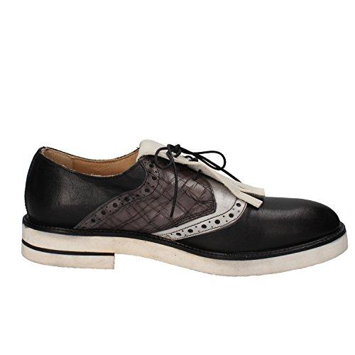 Marque Senza - Chaussures À Lacets En Cuir Pour Les Hommes Noir Taille: 41 sites en ligne d'origine à vendre naturel et librement à bas prix 0JD0u