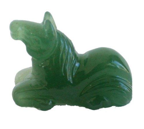Jade Horse Statue (Small Jade Horse Statue)