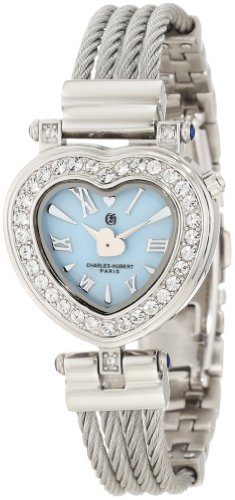 Charles-Hubert, Paris Women's 6780-E Premium Collection Stainless Steel Wire Bangle Watch