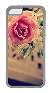 iPhone 5c case, Cute Pink Rose 10 iPhone 5c Cover, iPhone 5c Cases, Soft Clear iPhone 5c Covers