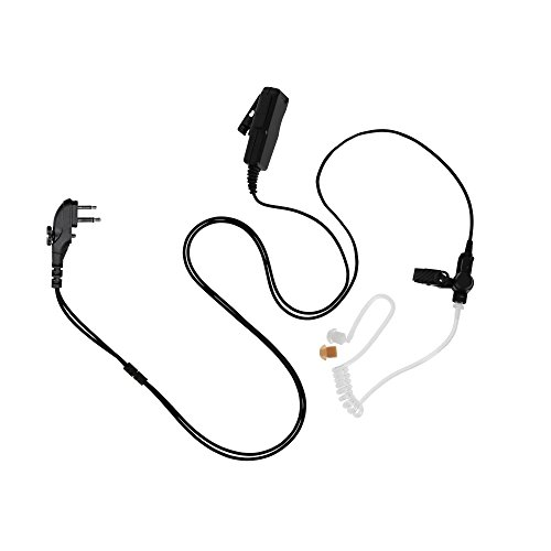 MAXTOP ASK4032-H4 2-Wire Acoustic Ear Tube Surveillance Kit for Hytera TC-700 TC-620 TC-510 TC-500S by MAXTOP