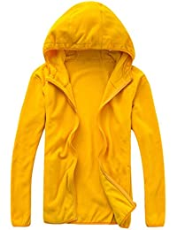 Amazon.com: Yellow - Fleece / Jackets & Coats: Clothing, Shoes ...