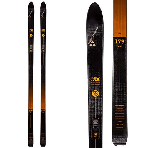 Touring Crown Skis - Fischer Traverse 78 Crown Cross Country Ski - 169cm - Black/Red