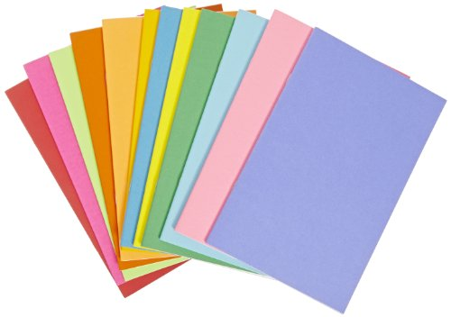 Hygloss Rainbow Bright 32 Page Books - 5 1/2 x 8 1/2 inches - Pack of 12 - Assorted Colors from Hygloss