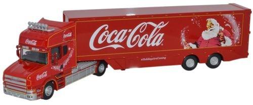 1:76 Oxford Diecast Coca Cola T Cab Box Trailer ()