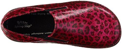 Leopard Women's Shoe Pink Ferrara Work Spring Step YwTq7