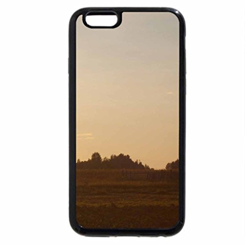 iPhone 6S / iPhone 6 Case (Black) Hay early summer morning