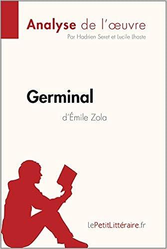 amazon com germinal d Émile zola analyse de l oeuvre résumé