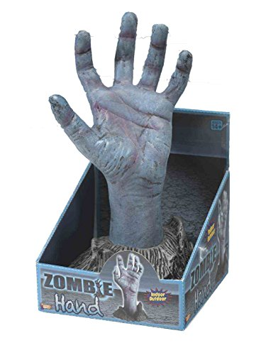 Scariest Halloween Decoration (Forum Novelties Zombie Hand from Ground, Multicolor)