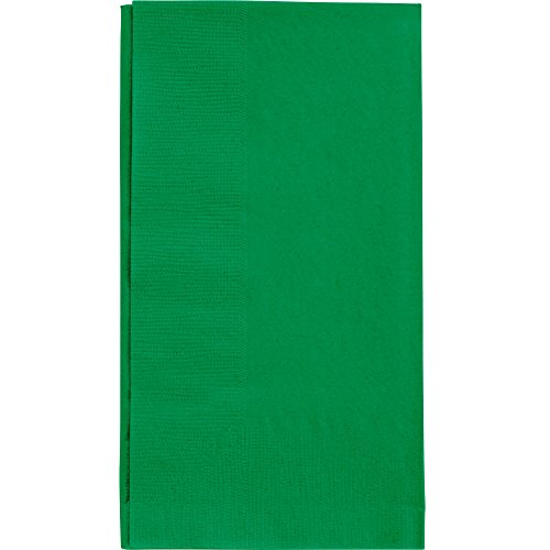 Green Dinner Napkin, Choice 2-Ply, 15