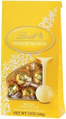 lindt white chocolate truffles bag