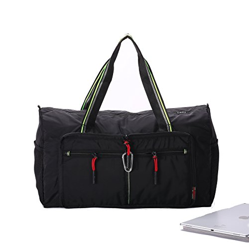 Packable Travel Sports Duffle Bag Waterproof Foldable Luggage Bag  Lightweight Large Capacity Gym Bag for Men 689c971924c0a