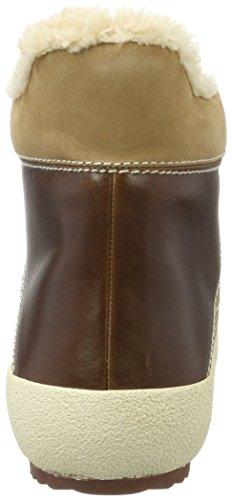 Sneaker Amy G45 Gant Collo a Cognac Donna Alto Marrone 5ZHannfx