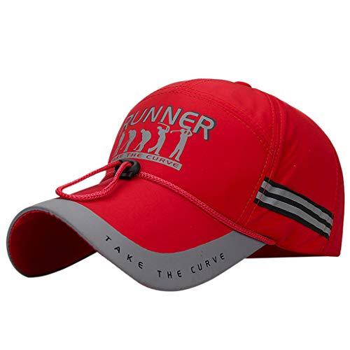 Weiliru 2019 Night Running Cap Quick Dry Hat Flashback Sports Cap