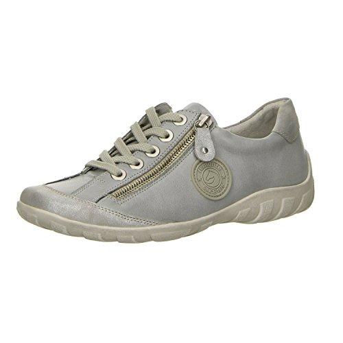 Lace Remonte whitelightblu silber silber grey Shoes R3443 11 Women whitelightblu Up HHqwxAaR