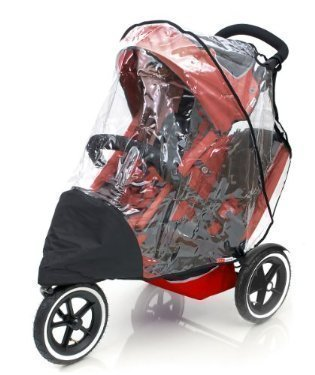 PHIL AND TEDS SPORT DOUBLE RAINCOVER by Baby Travel
