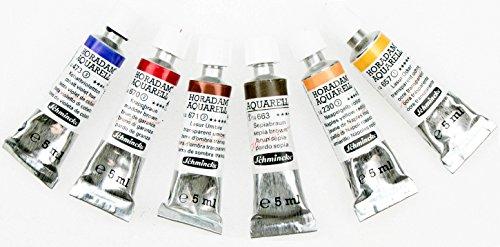 (Schmincke Horadam artists Watercolour Skin Tones Mixing Set (6 x 5ml tubes) )