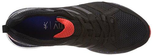 adidas Adizero Tempo 9 Aktiv, Scarpe Running Uomo Nero (Cblack/Cblack/Hirere Cblack/Cblack/Hirere)