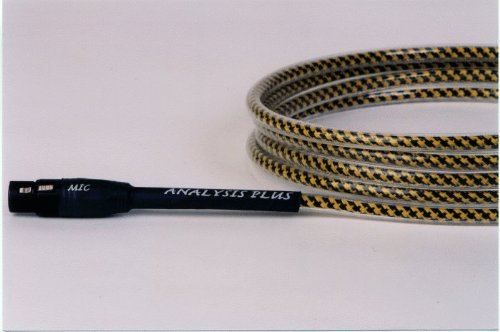 Analysis Plus Yellow Oval Mic Cable (15 Feet) XLRs