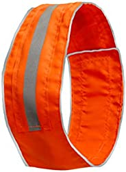 SPOT THE DOG! Easy Fastening Dog Collar, High Visibility Orange, Reflective, Sizes XS-XXL