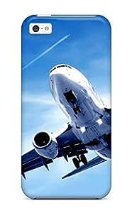 Iphone 5c Case Cover Skin : Premium High Quality Plane Landing Case