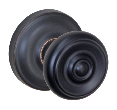 Fusion Hardware V-38-A5-0-ORB Full Set Cambridge Privacy Knob with Ketme Rose Adjustable Backset Oil Rubbed Bronze