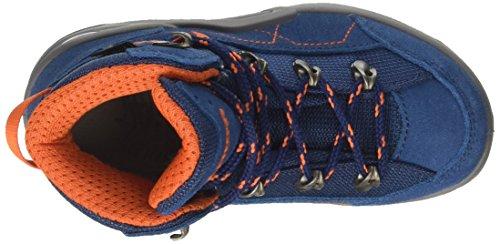 Lowa Unisex Kids' Kody III GTX Mid Junior Hiking Boots Blue (Blau/Orange) QVsK3lRU