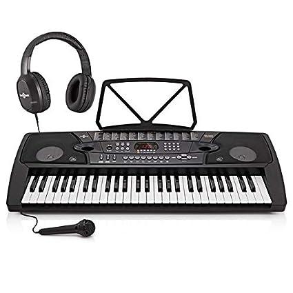 Teclado Portátil MK-2000 de 54 Teclas de Gear4music + Accesorios ...