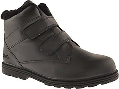 Amazon.com   Totes Men's 10018 Black Winter Ankle Boots US