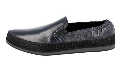 Prada Men's 4D2363 OZ7 F0216 Leather Loafers ln6UmO